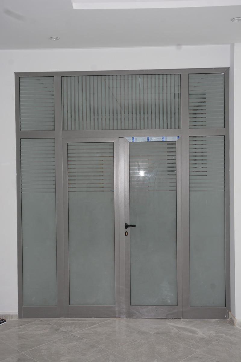 Cloison aluminium