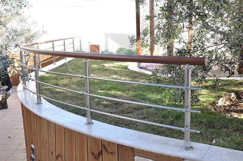 Garde-corps jardin et terrasse