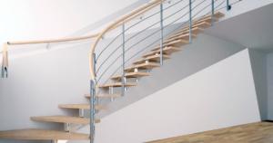 Rampes d'escalier en aluminium