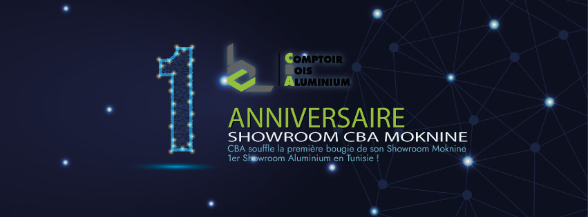 Mois Anniversaire Showroom CBA