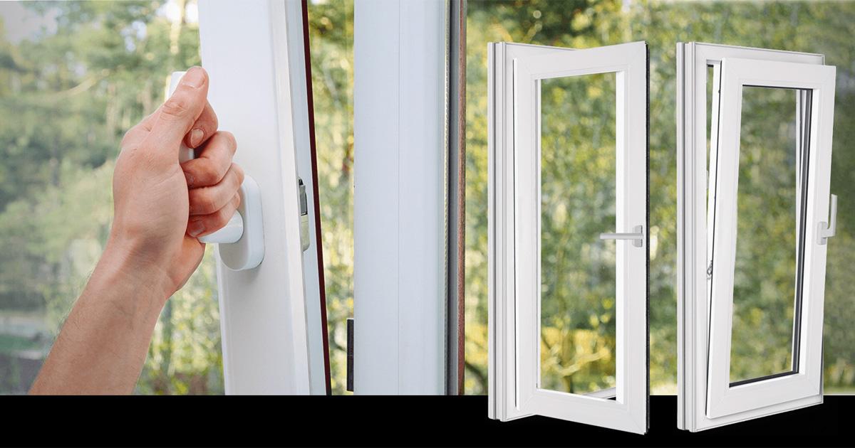 La fenêtre oscillo-battante en aluminium