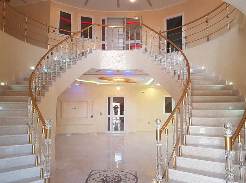 Rampe Escalier Cristal 1