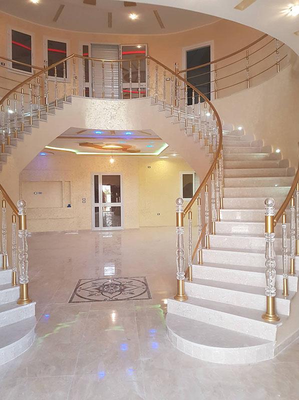 Rampe Escalier Cristal 2