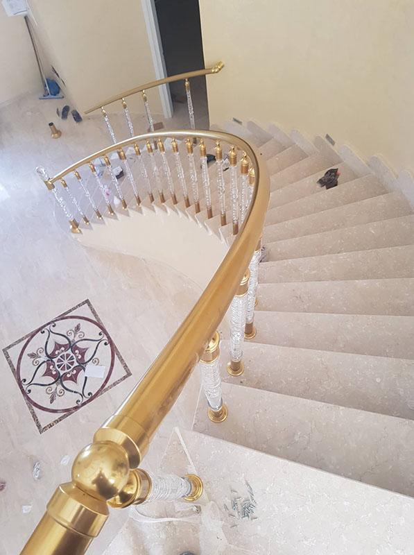 Rampe Escalier Cristal 4