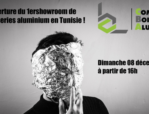 Ouverture du 1er showroom de menuiseries aluminium en Tunisie !